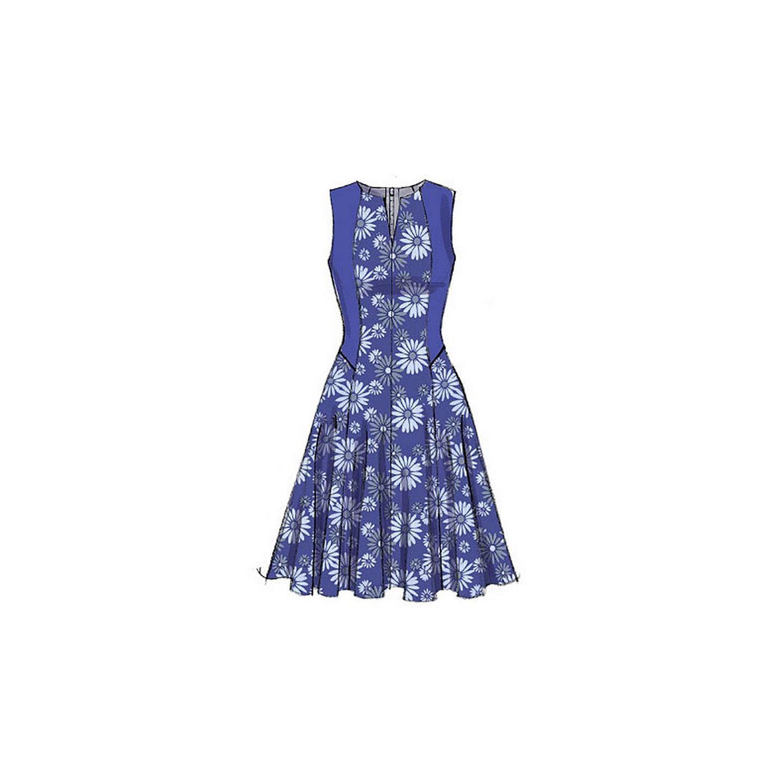 Vogue Easy Options Women\'s Dress Sewing Pattern, 9050 at John Lewis