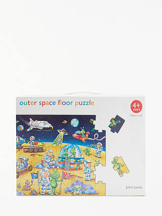 Buy John Lewis & Partners Outer Space Floor Jigsaw Puzzle, 50 Pieces Online at johnlewis.com