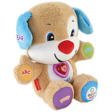 Buy Fisher-Price Laugh & Learn Smart Stages Puppy Online at johnlewis.com