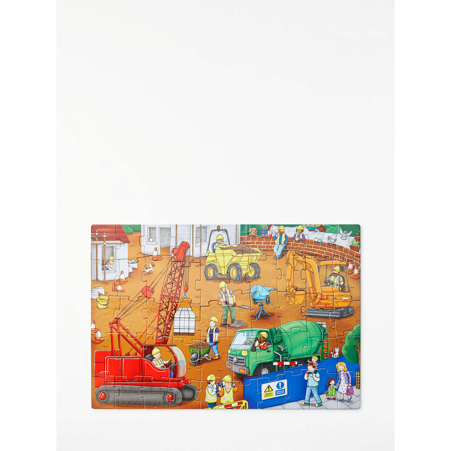 John Lewis Construction Site Floor Jigsaw Puzzle at John Lewis
