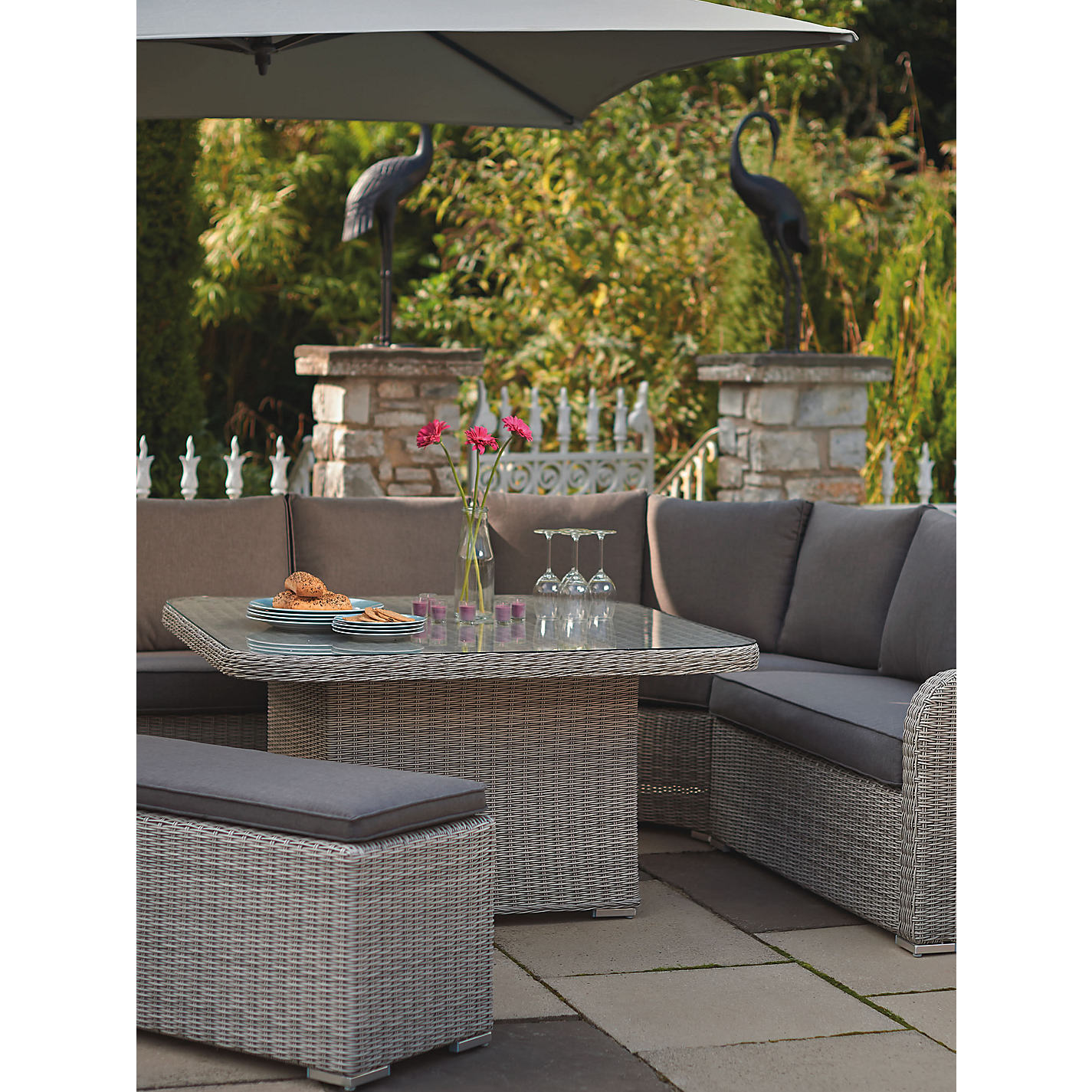buy kettler madrid outdoor furniture range online at johnlewiscom - Garden Furniture The Range