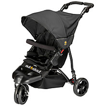 Buy Out 'N' About Little Nipper Pushchair, Jet Black Online at johnlewis.com