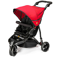 Buy Out 'N' About Little Nipper Pushchair, Red/Black Online at johnlewis.com