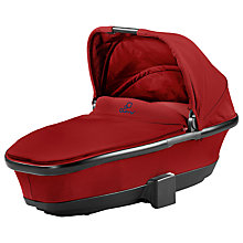 Buy Quinny Foldable Carrycot, Red Rumour Online at johnlewis.com