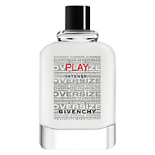 Buy Givenchy Play Intense Eau de Toilette,150ml Online at johnlewis.com