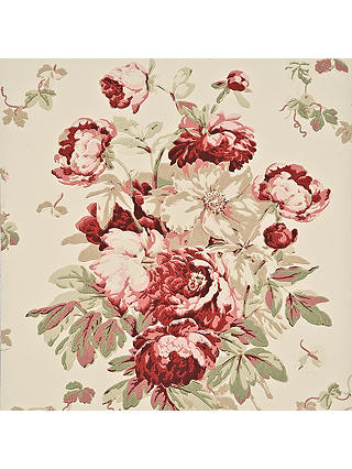 Buy Mulberry Home Garden Peony Wallpaper, FG071.V117 Online at johnlewis.com