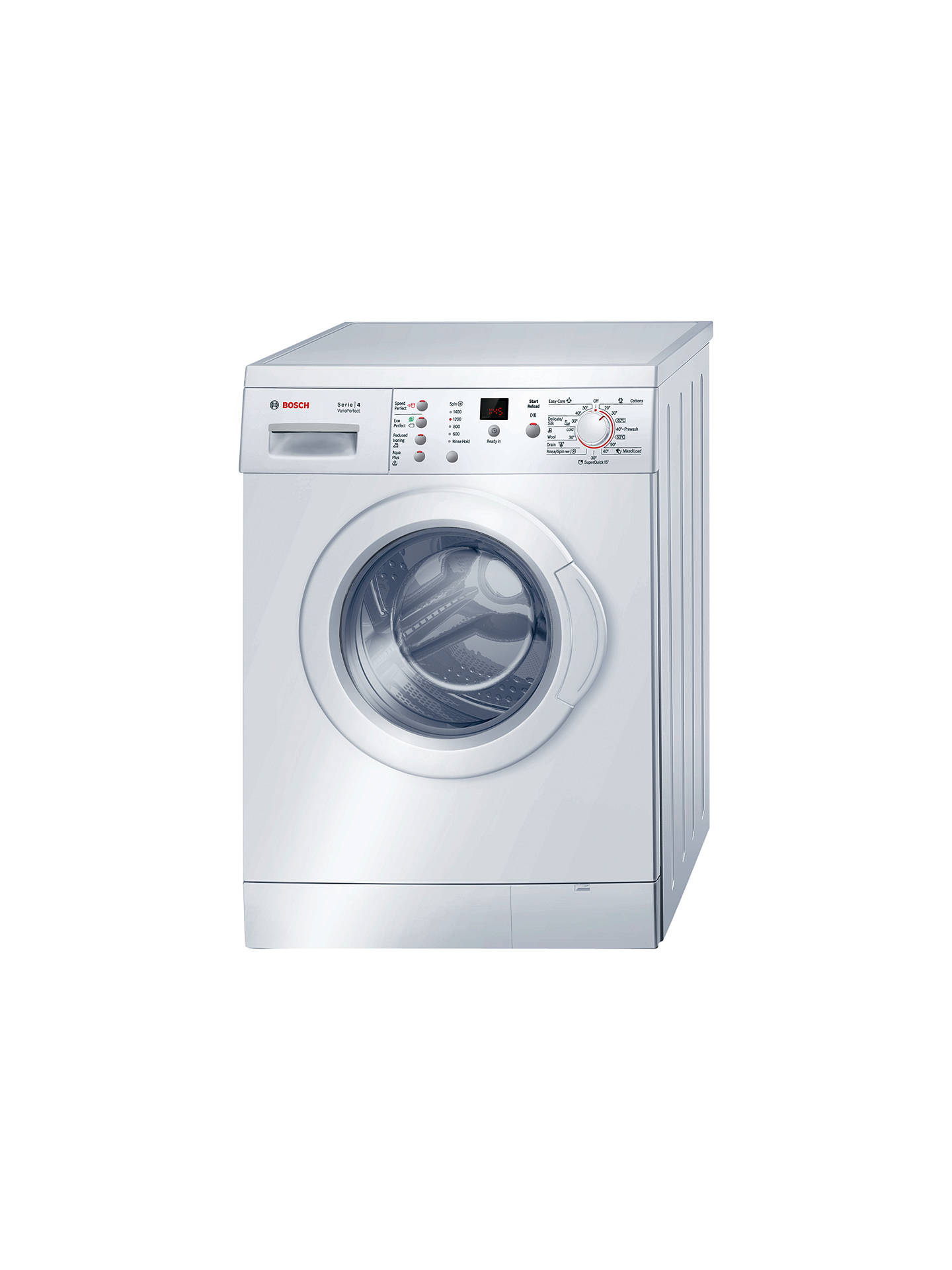 bosch serie 4 maxx wae28377gb freestanding washing machine. Black Bedroom Furniture Sets. Home Design Ideas