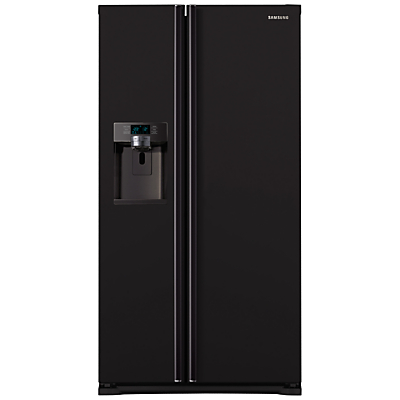 Samsung RSG5MUBP1/XEU American Style Fridge Freezer, A+ Energy Rating, 90cm Wide, Black