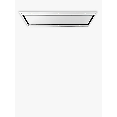 Image of John Lewis & Partners JLCEILHD87 Ceiling Cooker Hood, Stainless Steel