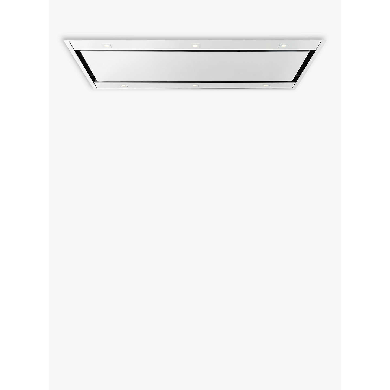 john lewis jlceilhd87 ceiling cooker hood stainless steel. Black Bedroom Furniture Sets. Home Design Ideas