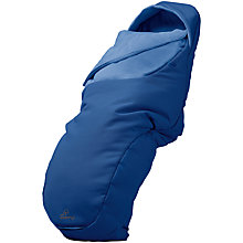 Buy Quinny Footmuff, Blue Base Online at johnlewis.com