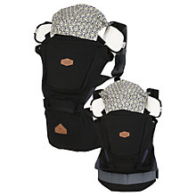 Buy I-Angel Rainbow Hipseat Baby Carrier, Black Online at johnlewis.com