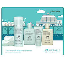 Buy Liz Earle Instant Radiance Collection, Normal / Combination Online at johnlewis.com