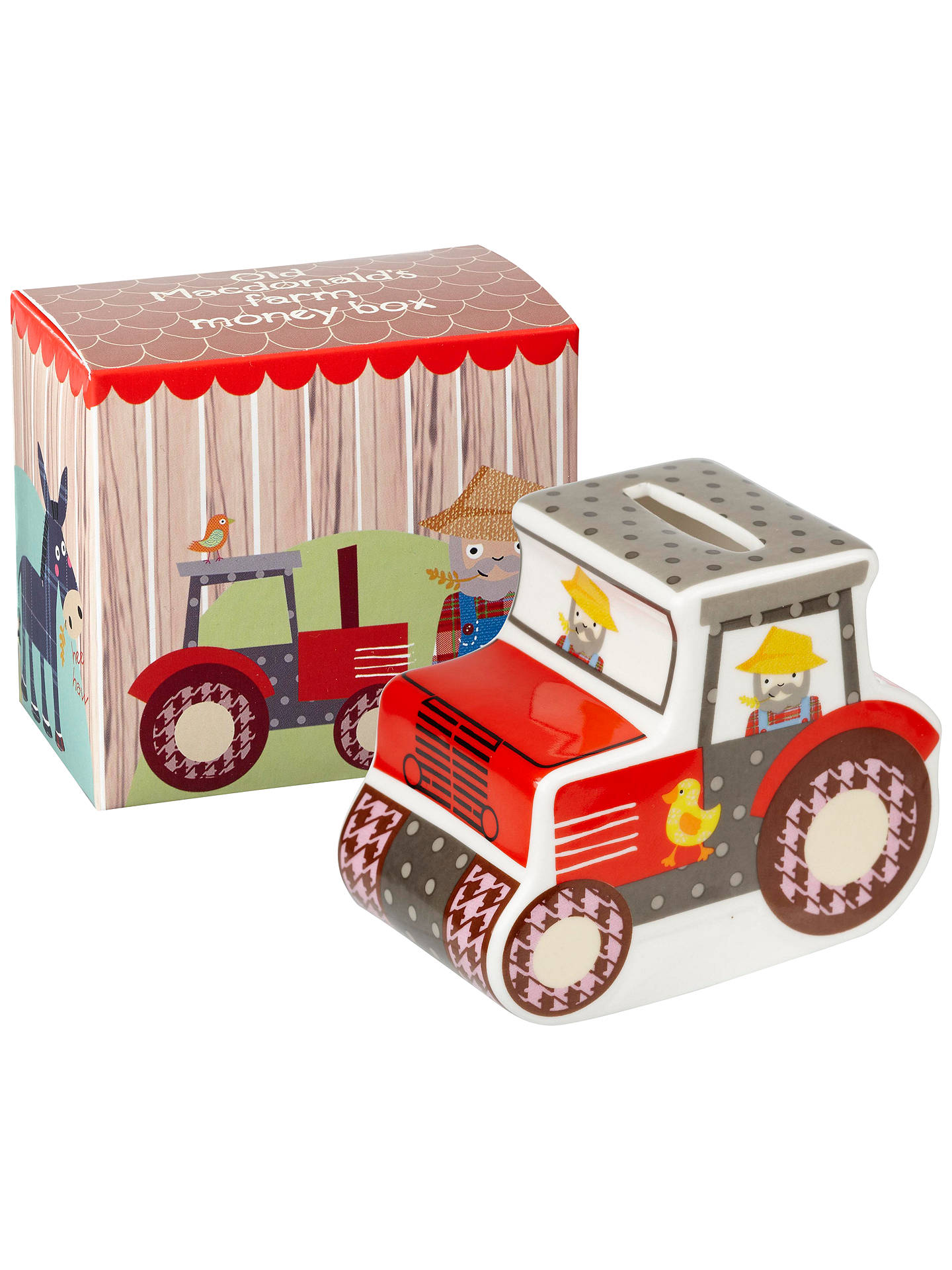 BuyLittle Rhymes Old Macdonald Money Box Online at johnlewis.com