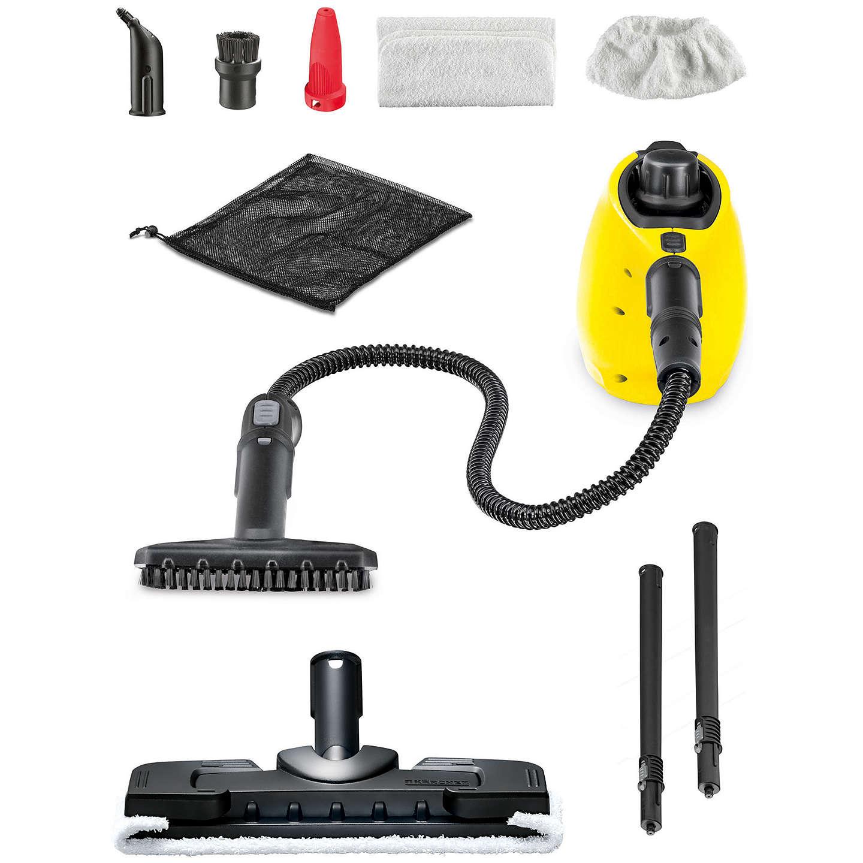 k rcher sc1 premium with floor kit steam stick steam cleaner at john lewis. Black Bedroom Furniture Sets. Home Design Ideas