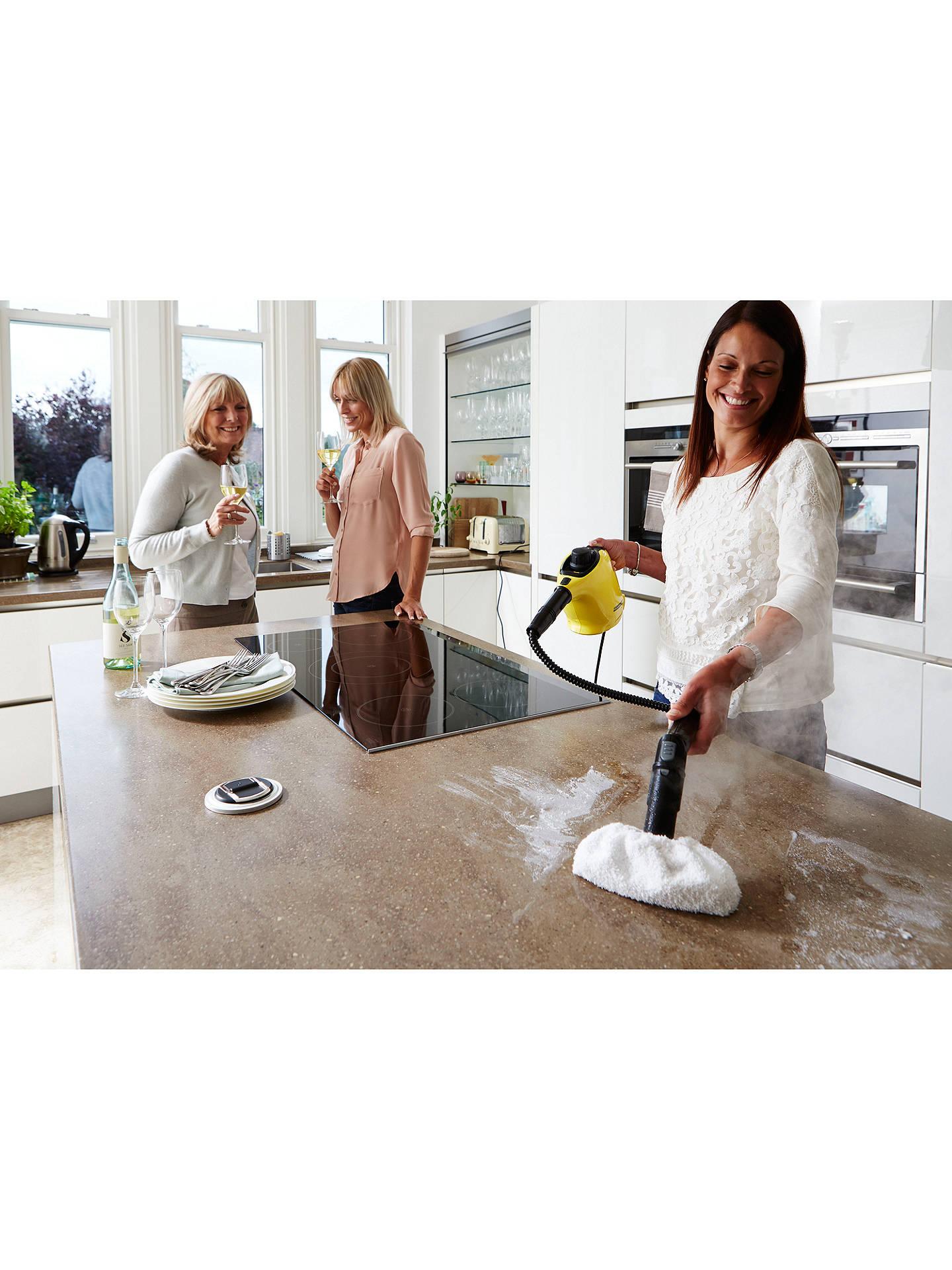 k rcher sc1 premium with floor kit steam stick steam. Black Bedroom Furniture Sets. Home Design Ideas