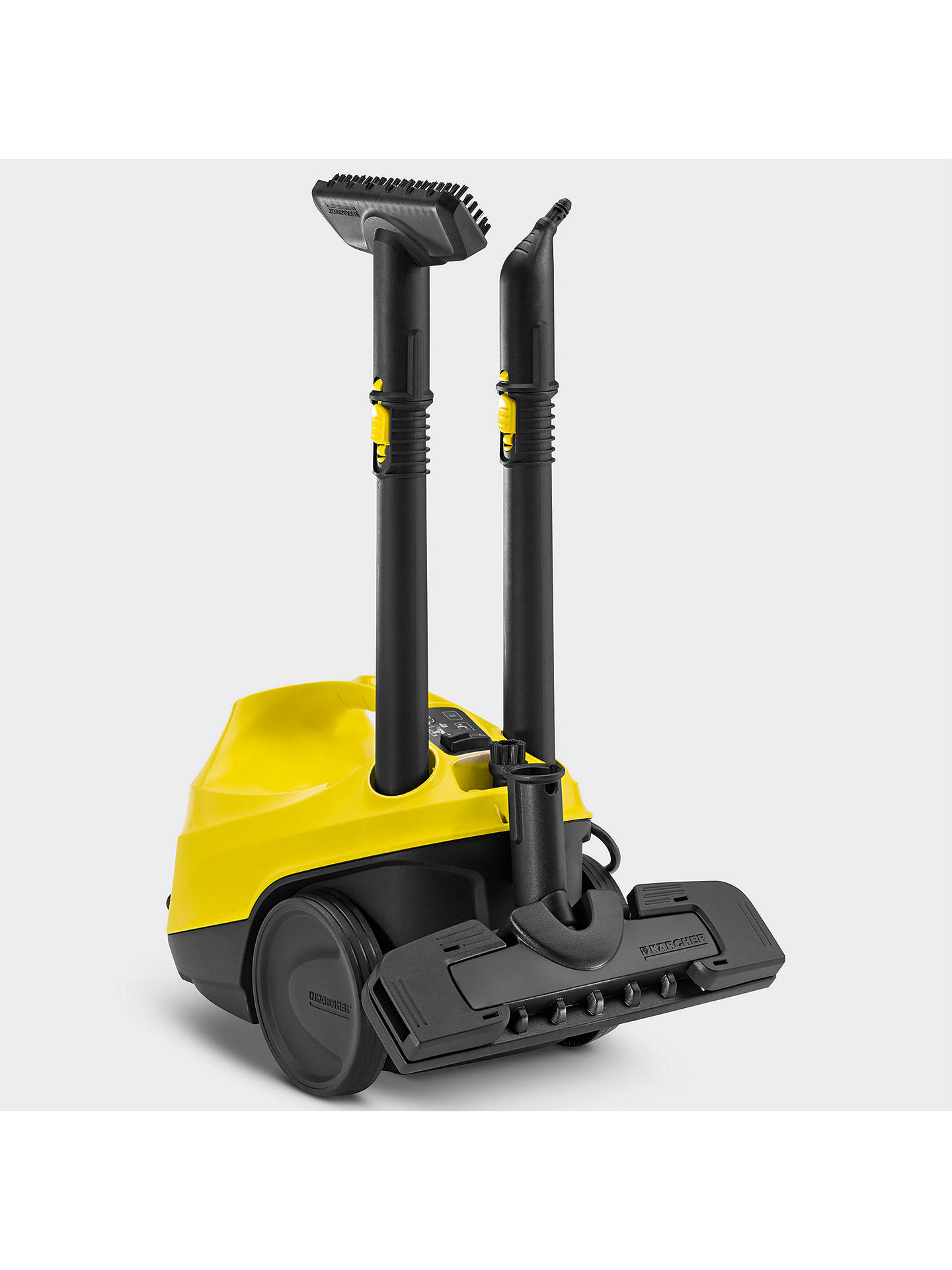 k rcher sc3 continuous steam cleaner with built in. Black Bedroom Furniture Sets. Home Design Ideas