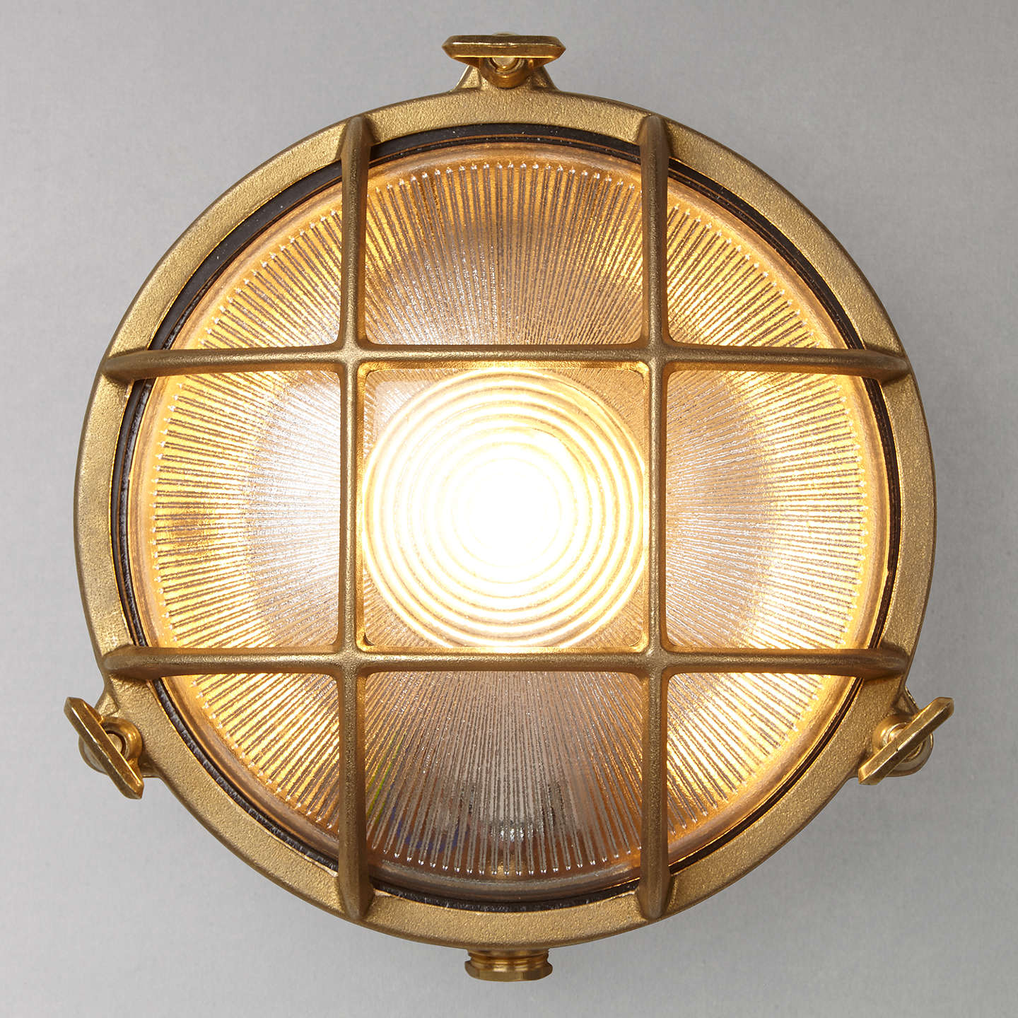 Nordlux bulkhead round outdoor light at john lewis buynordlux bulkhead round outdoor light solid brass online at johnlewis mozeypictures Image collections