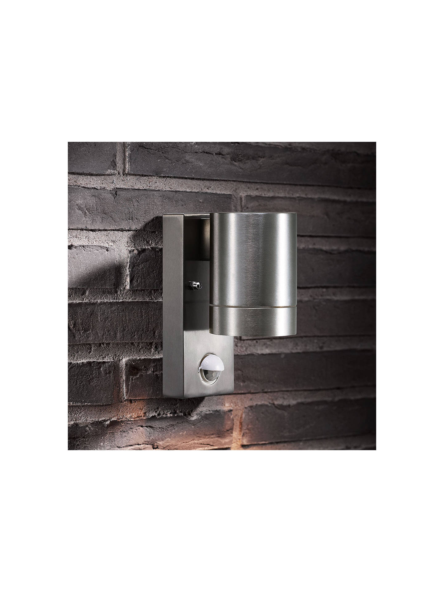 Buy Nordlux Maxi PIR Sensor Security LED Light, Aluminium Online at johnlewis.com