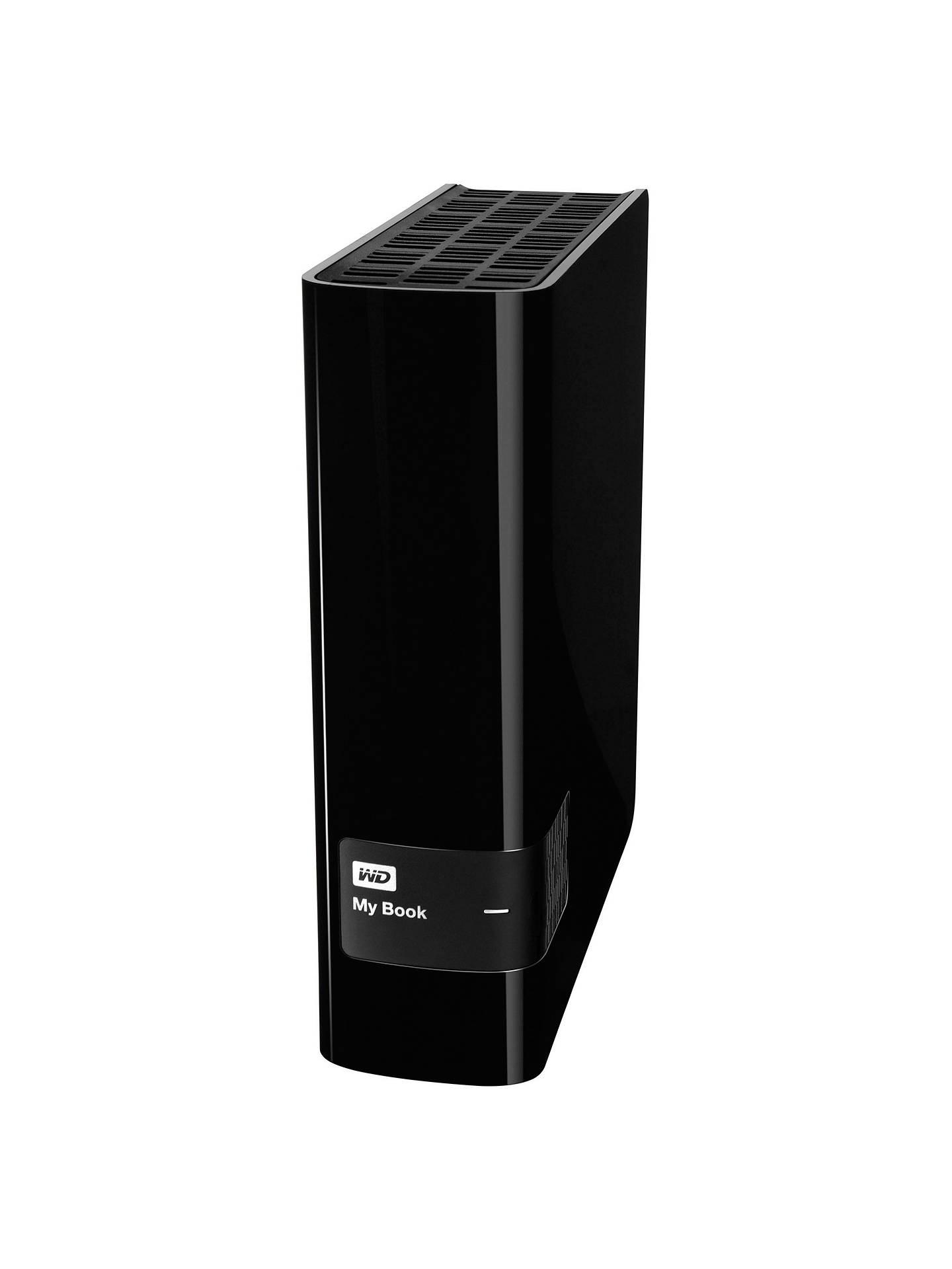 WD My Book External Hard Drive, USB 3 0, 3TB for Mac at John