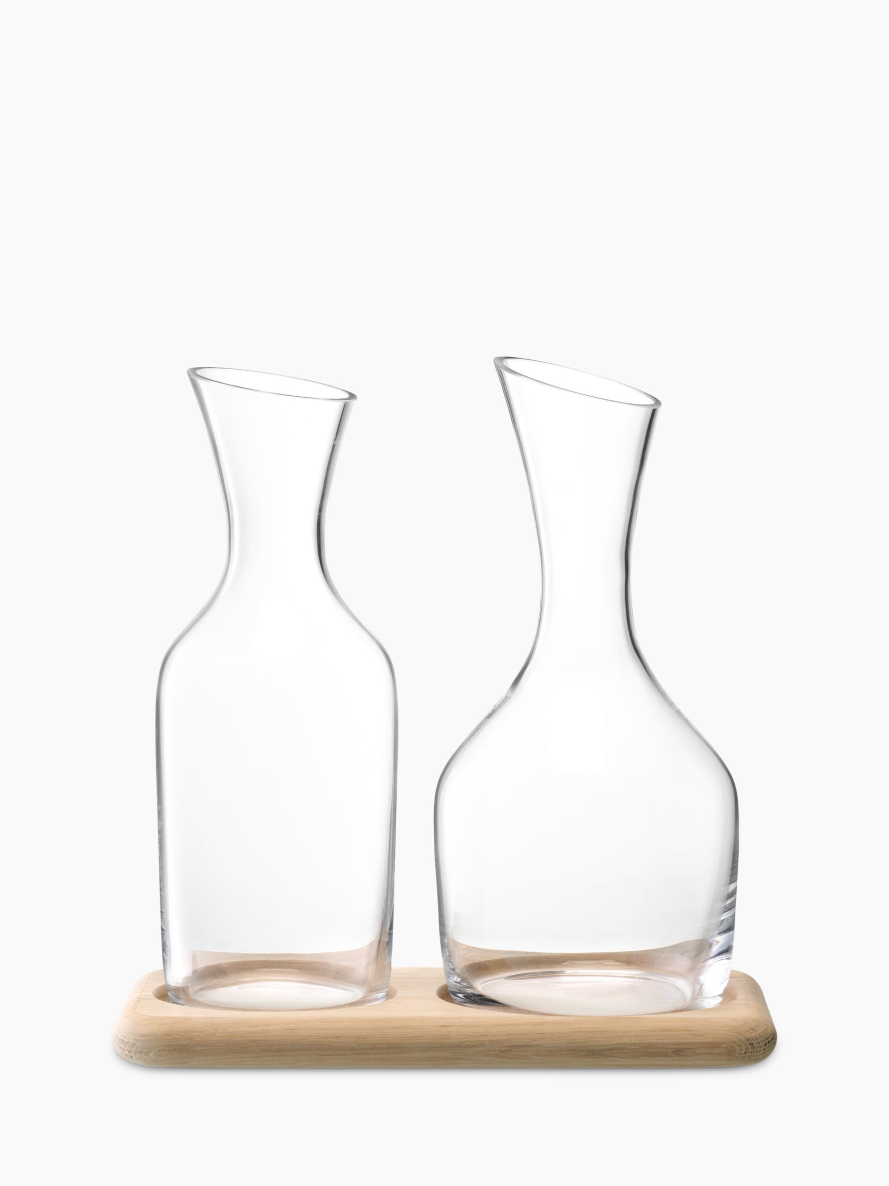 LSA International LSA International Bar Collection Water and Wine Carafe Set