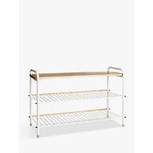 Buy John Lewis Scandi Shoe Rack Online at johnlewis.com