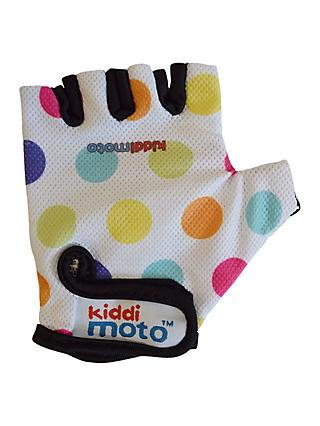 Kiddimoto Dotty Gloves, Pastel, Small