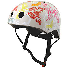 Buy Kiddimoto Butterflies Helmet, Small Online at johnlewis.com