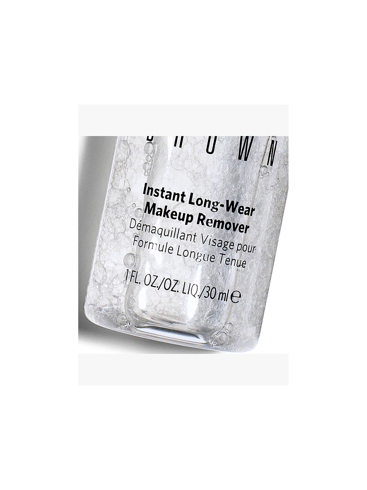 BuyBobbi Brown Instant Long-Wear Makeup Remover, 30ml Online at johnlewis.com