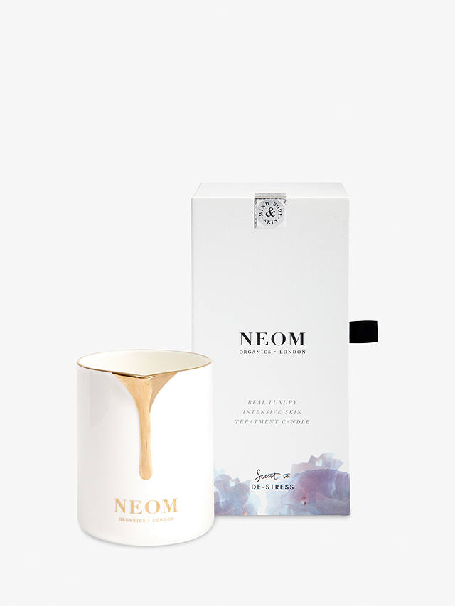 Buy Neom Organics London Real Luxury Skin Treatment Scented Candle Online at johnlewis.com