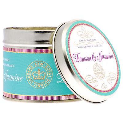Kew Gardens Damson and Jasmine Candle Tin