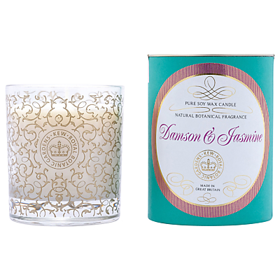 Kew Gardens Damson and Jasmine Candle