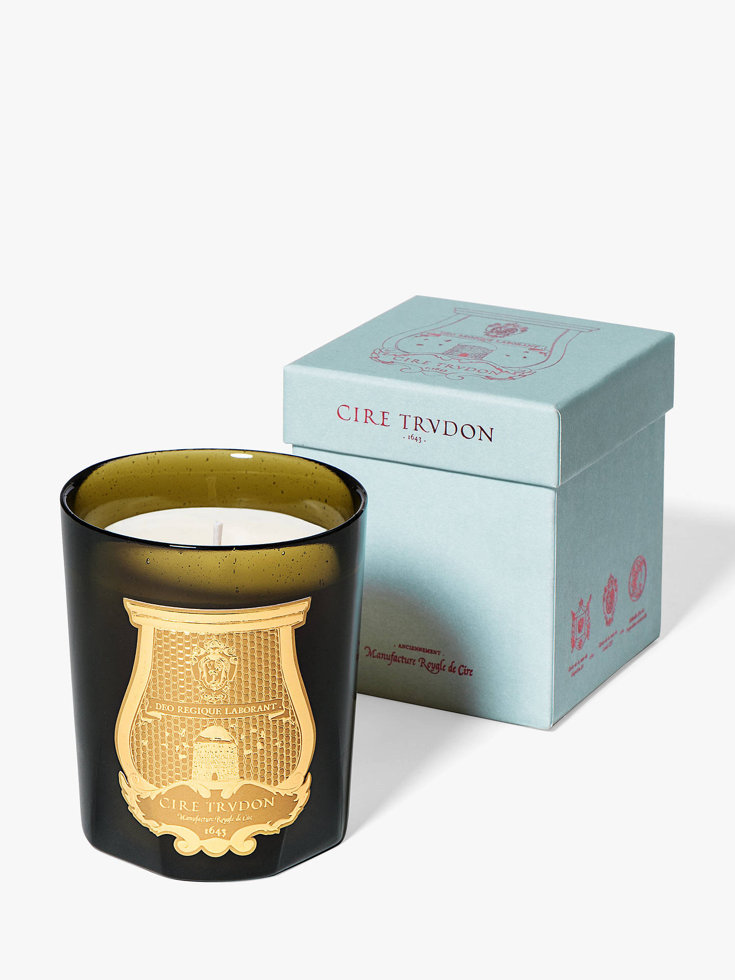 2afa4cb9c4 Buy Cire Trudon Madeleine Scented Candle Online at johnlewis.com ...