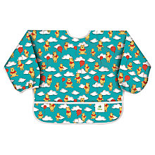 Buy Bumkins Winnie The Pooh Balloons Bib, Blue Online at johnlewis.com