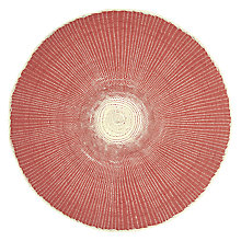 Buy John Lewis Fusion Placemats, Set of 2, Paprika Online at johnlewis.com