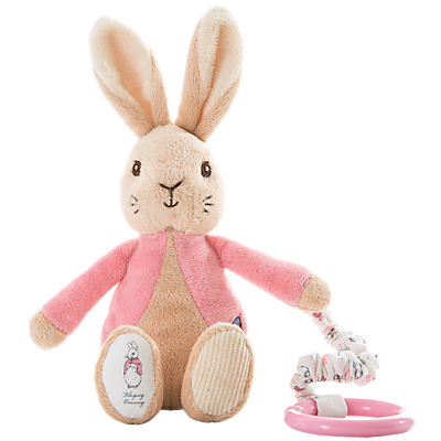 Beatrix Potter Flopsy Bunny Attachable Toy
