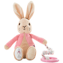 Buy Beatrix Potter Flopsy Bunny Attachable Toy Online at johnlewis.com