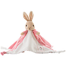Buy Beatrix Potter Flopsy Bunny Comfort Blanket Online at johnlewis.com