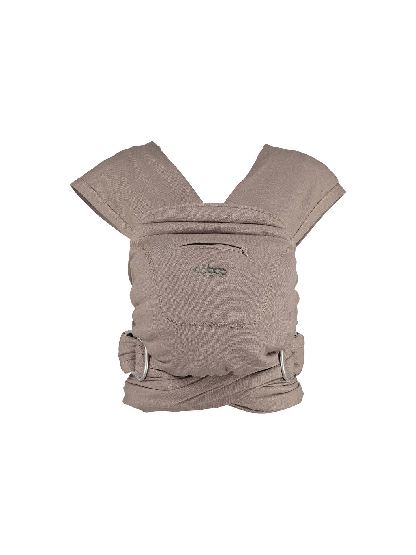 BuyClose Parent Caboo+ Organic Baby Carrier, Driftwood Online at johnlewis.com