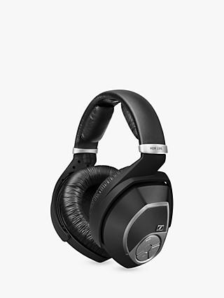 Sennheiser RS195 Over-Ear Personal Hearing RF Wireless Headphones, Black