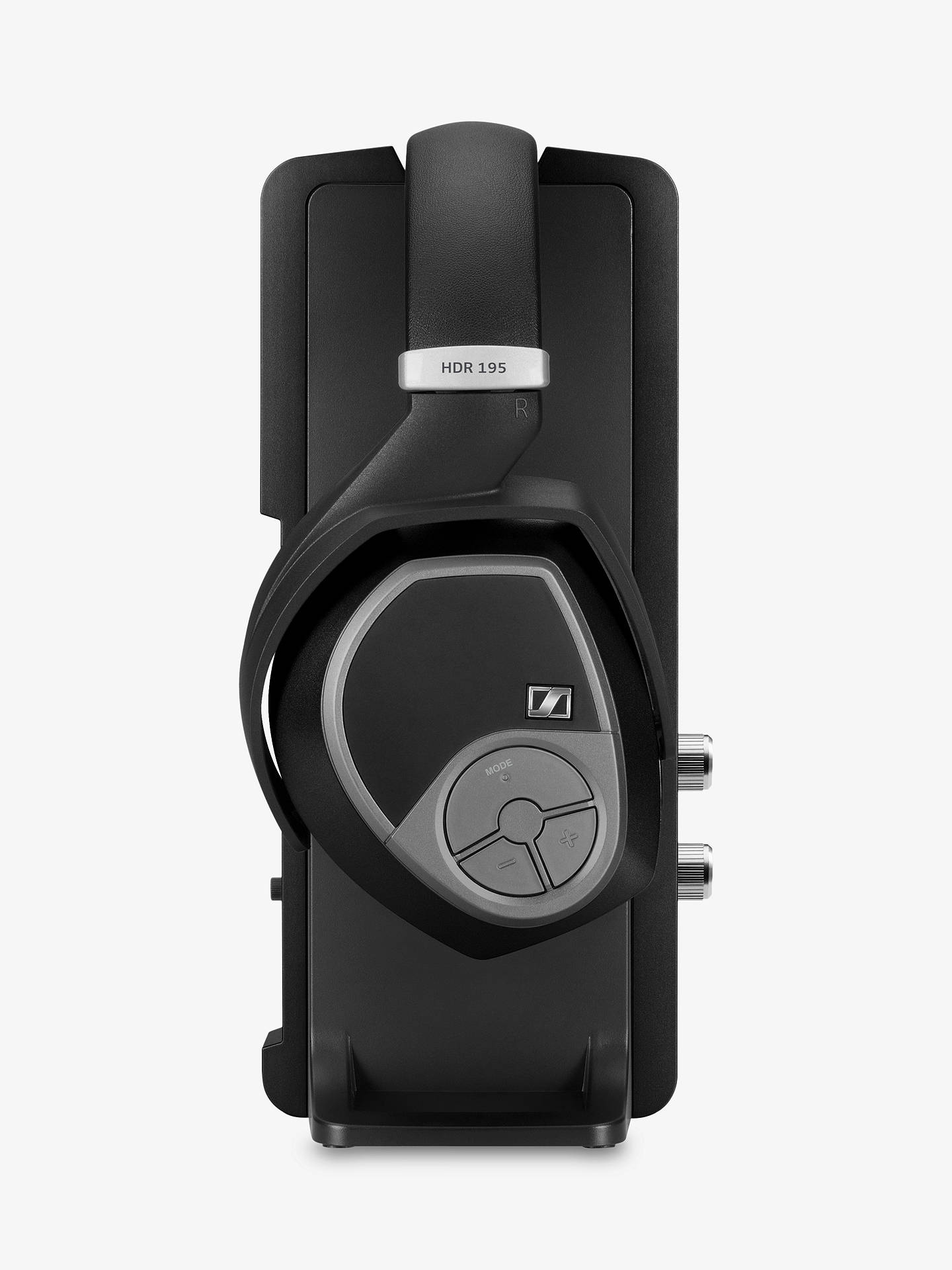Buy Sennheiser RS195 Over-Ear Personal Hearing RF Wireless Headphones, Black Online at johnlewis.com