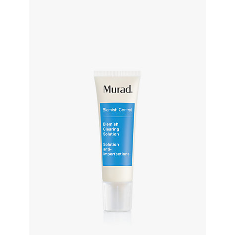 Buy Murad Blemish Clearing Solution, 50ml Online at johnlewis.com