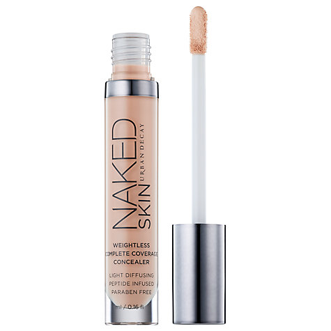 Buy Urban Decay Naked Skin Weightless Complete Coverage Concealer Online at johnlewis.com