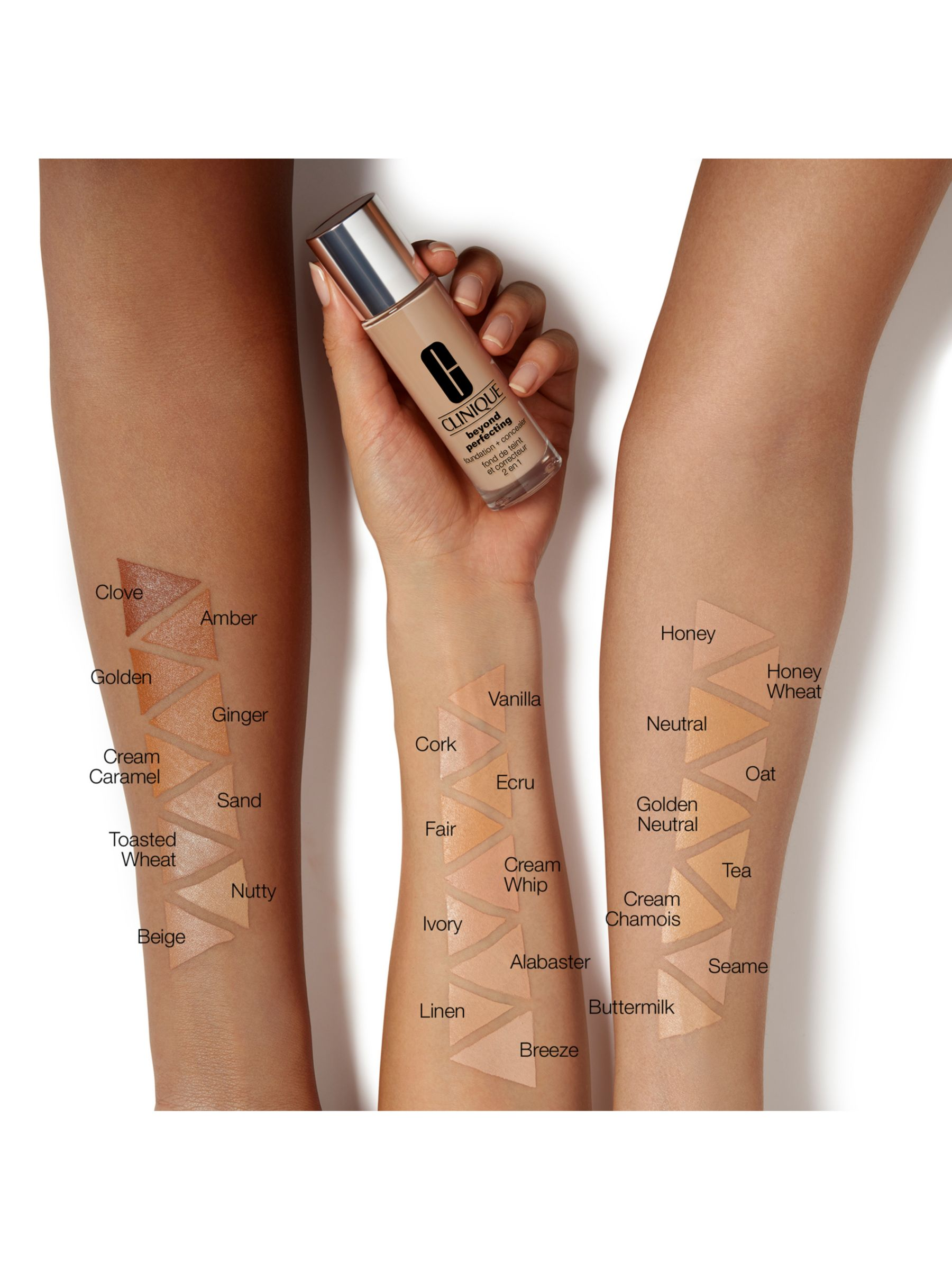 Clinique Beyond Perfecting Foundation Concealer At John Lewis Partners