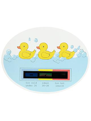 John Lewis & Partners Duck Bath Thermometer