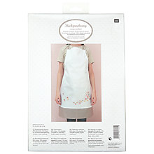 Buy Rico Cherry Blossom Apron Embroidery Kit Online at johnlewis.com