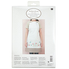 Buy Rico Fantasy Flower Apron Embroidery Kit Online at johnlewis.com