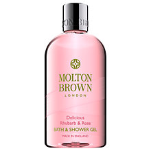 Buy Molton Brown Rhubarb & Rose Body Wash, 300ml Online at johnlewis.com