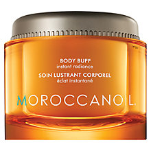 Buy Moroccanoil Body Buff, Fleur D'Oranger, 180ml Online at johnlewis.com
