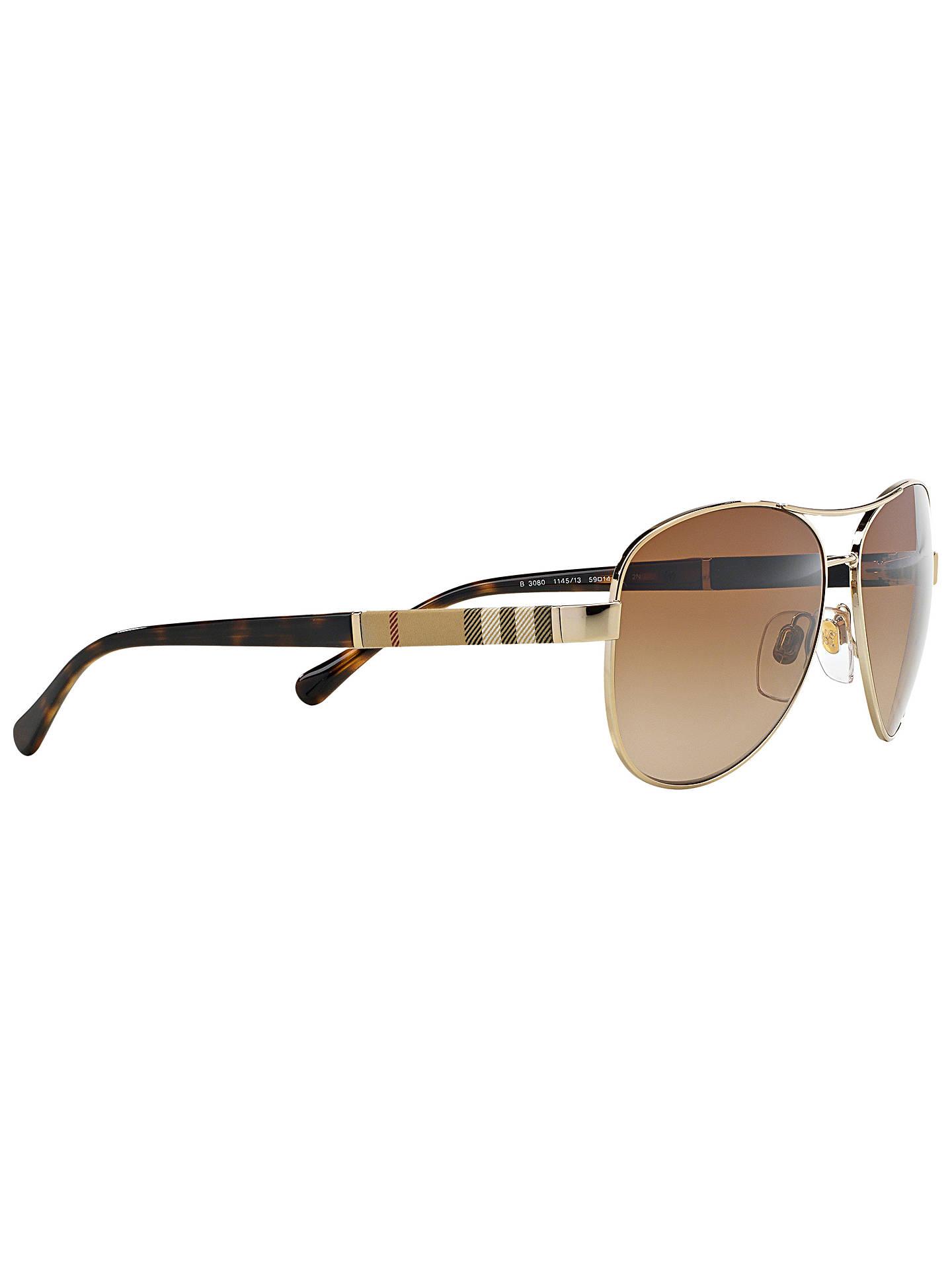 2938da2f9c ... Buy Burberry BE3080 Pilot Sunglasses